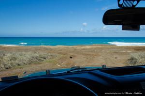 Jeep ocean view